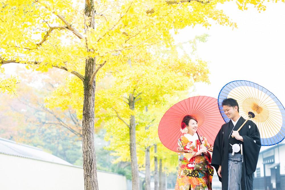 京都御所でのロケーションフォト