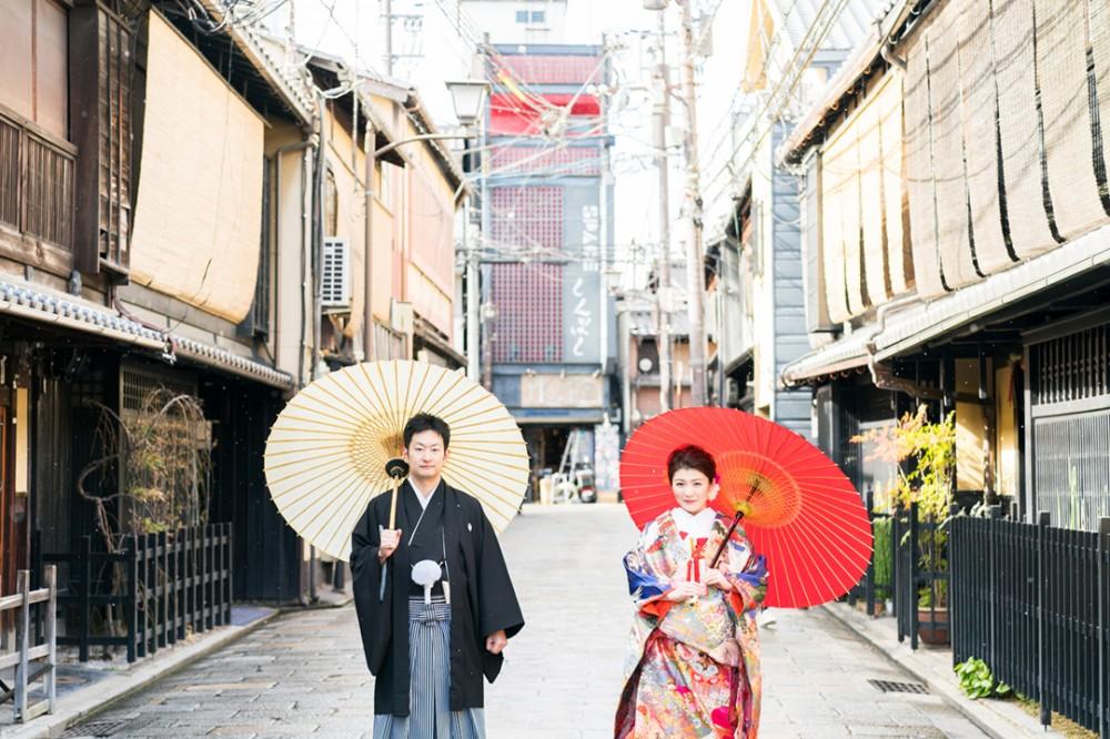 日本らしい和装の写真