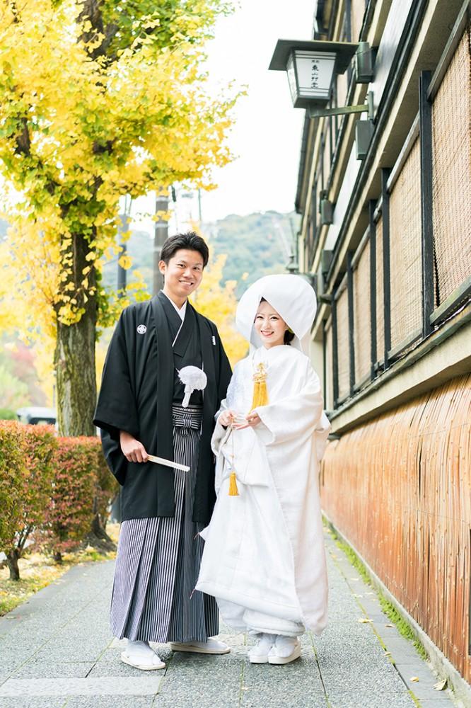 京都は東山界隈での和装撮影