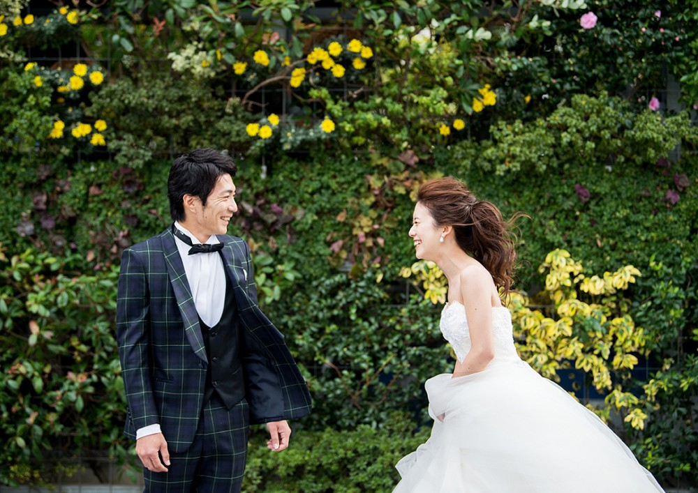 結婚式本番撮影