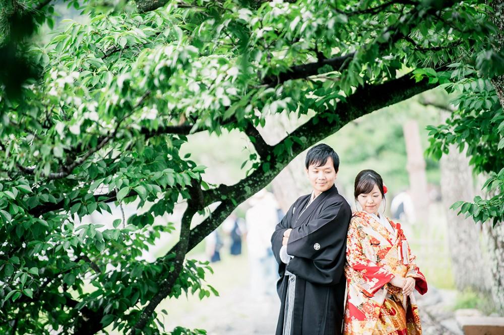 京都は嵐山での和装ロケーション撮影