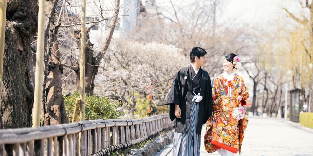 祇園白川、歩きながら撮影