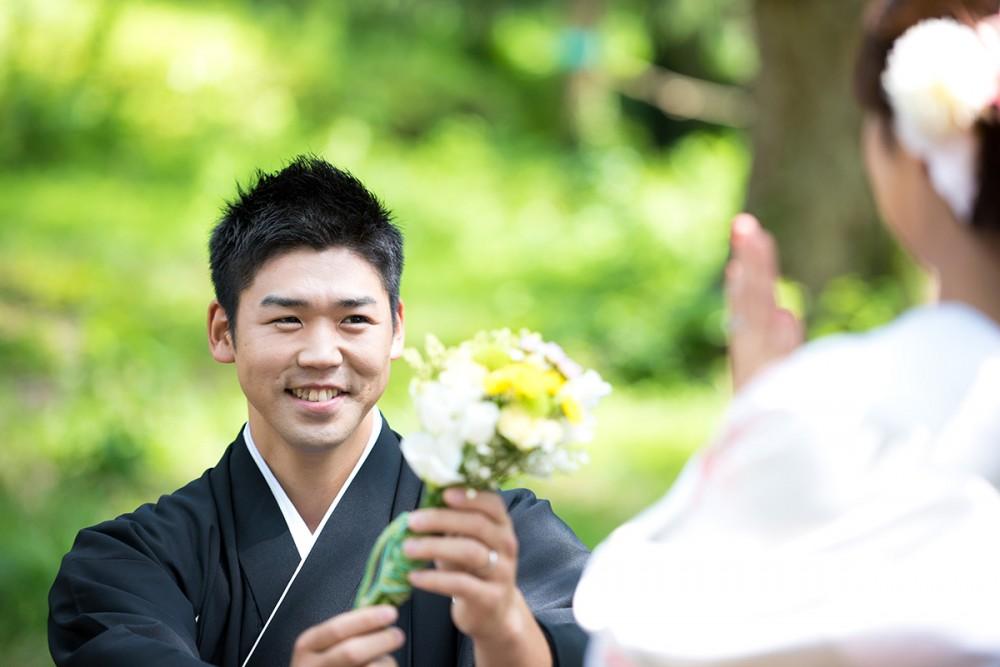 京都美翔苑より プロポーズ男性より