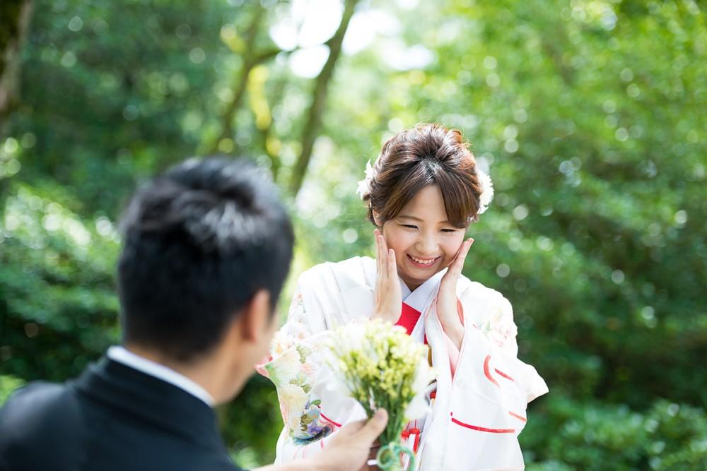 京都美翔苑より プロポーズ女性