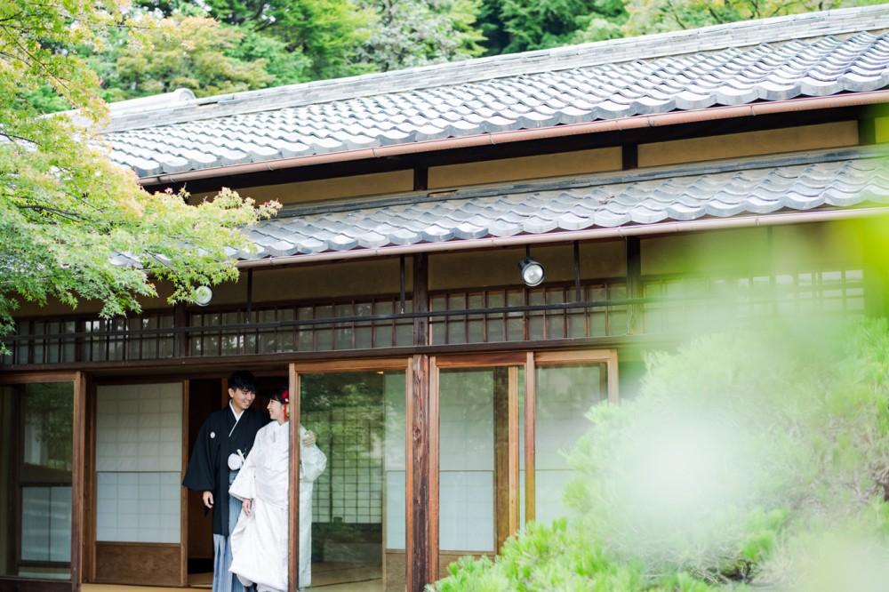 京都の和装前撮り「美翔苑」   ...