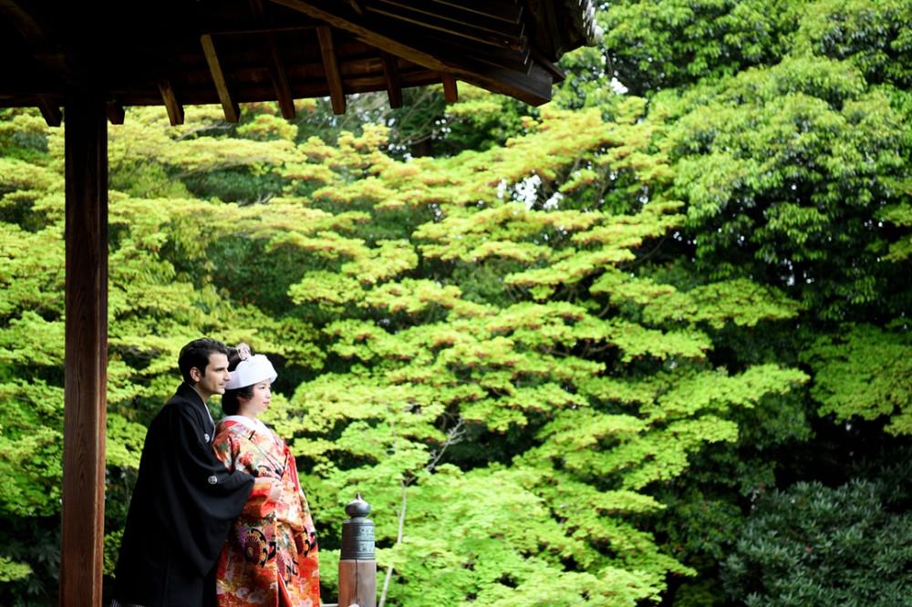 緑豊かな京都は随心院
