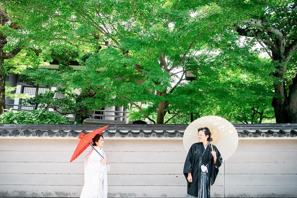 京都はねねの道近くの場所での撮影