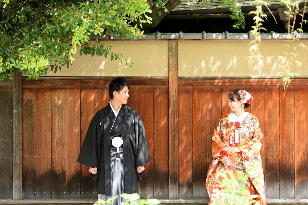 祇園にて和装撮影