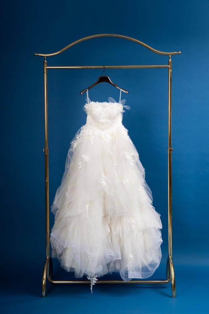 前撮り用のドレス8