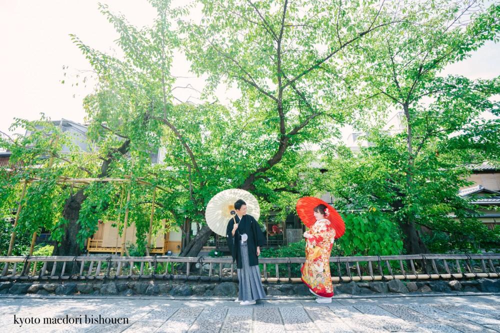 祇園での撮影イメージ写真