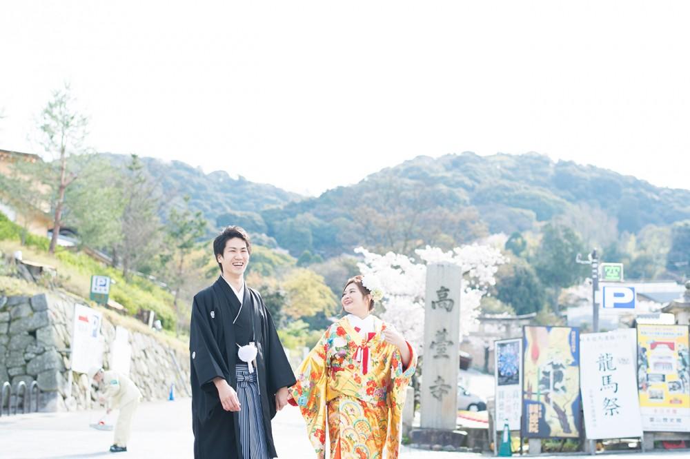 高台寺付近でロケ撮影