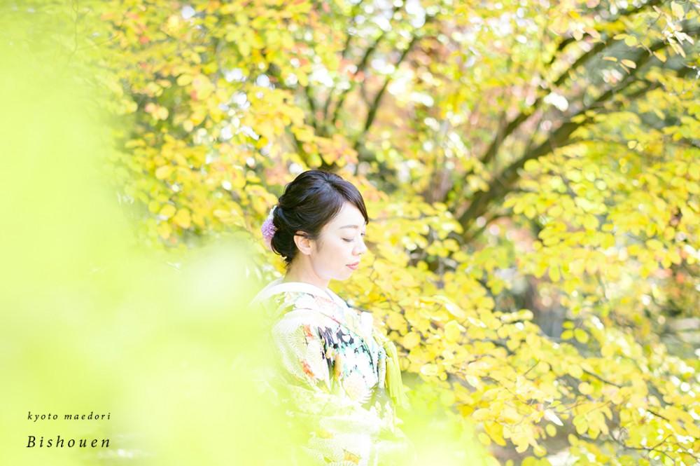 紅葉と花嫁