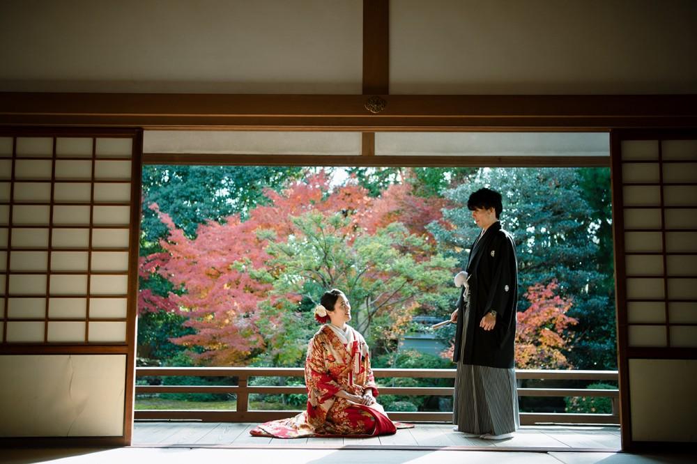 京都の随心院にて和装前撮り