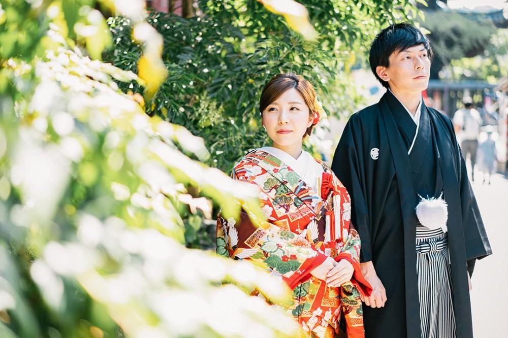 京都で和装前撮りを楽しむK様