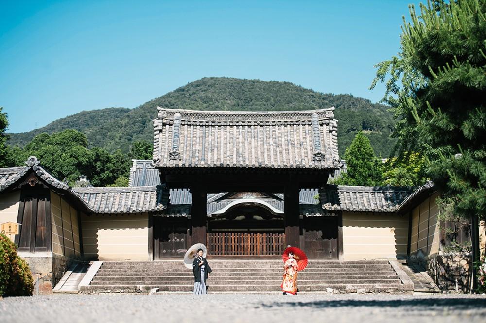 京都は随心院での和装の前撮り