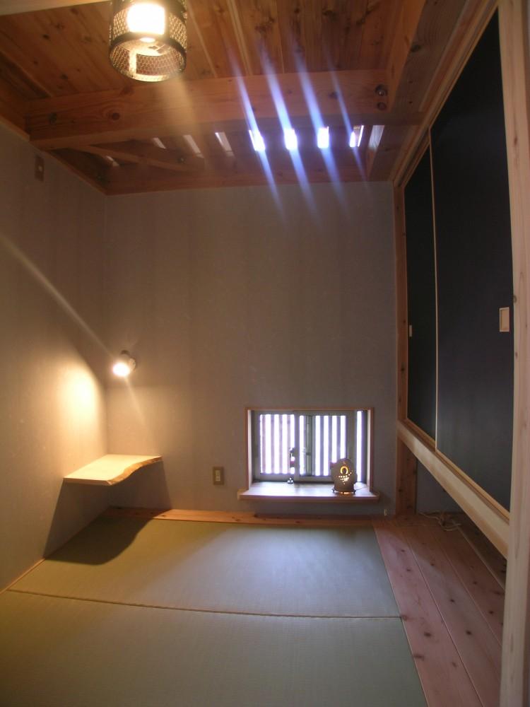 隠れ家的な和室