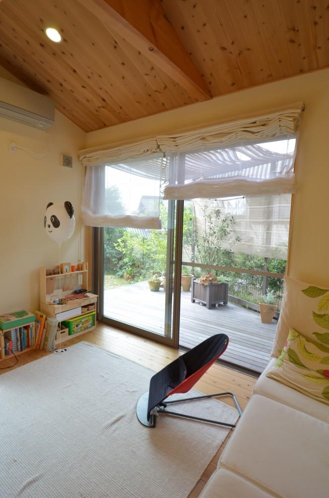 大きなリビング階段のある木の家T様 -7:木の家の住み心地はいかがですか? その1