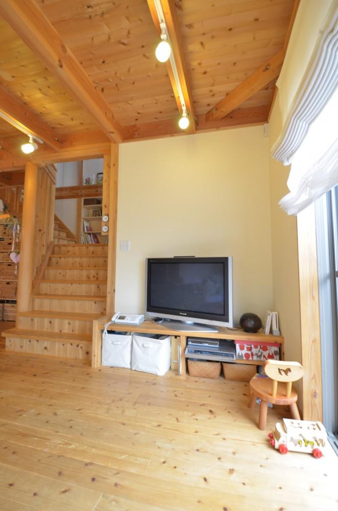 大きなリビング階段のある木の家T様 -8:木の家の住み心地はいかがですか? その2
