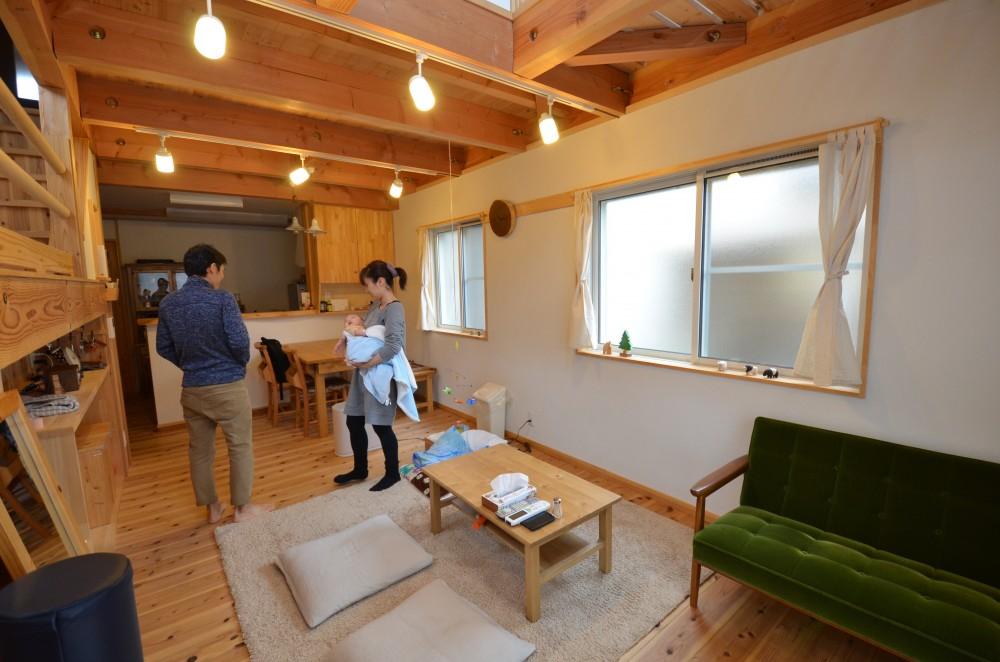 住宅密集地でも明るく楽しく暮らせる間取りの家:京都・木津川市 T様