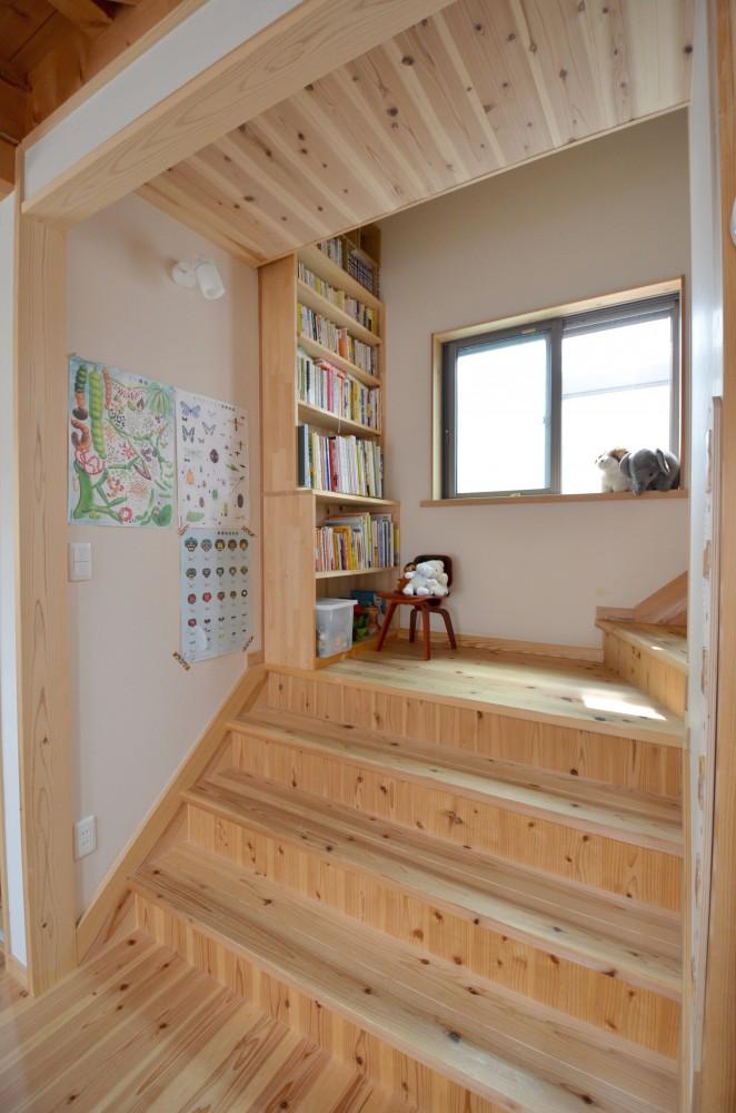 vol.16-手作り感あふれる楽しい空間づくり ~リビングステージ階段編~