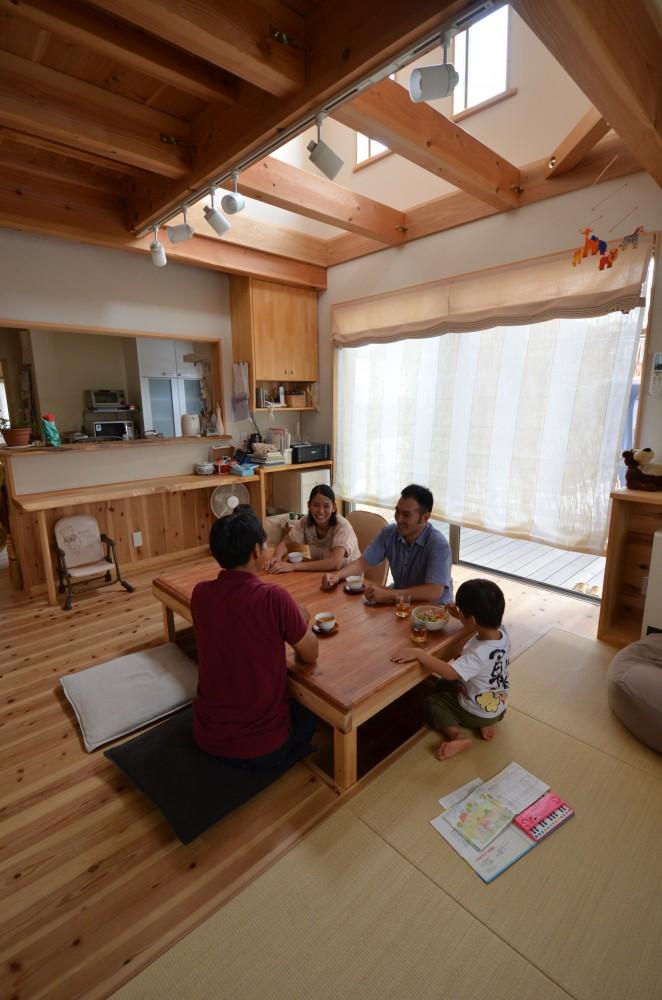 ゆったり暮らせるコンパクトな木の家:京都市 T様