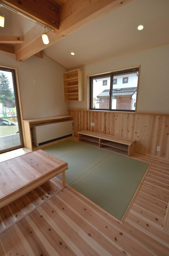 ゆったり暮らせるコンパクトな木の家T様 -6:暑さ・寒さについてはいかがですか?
