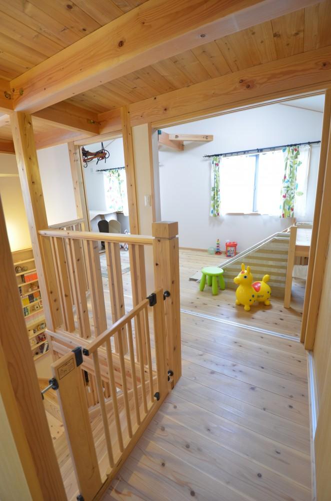 大きなリビング階段のある木の家T様 -9:木の家の住み心地はいかがですか? その3