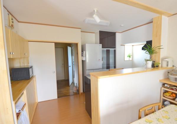 費用250万円以下でできるリノベーション:キッチンと壁面収納
