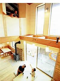 滋賀の木の家モデルハウス見学会 2017.2